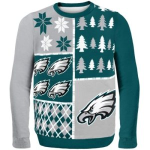 Philadelphia Eagles Busy Block Ugly Sweater