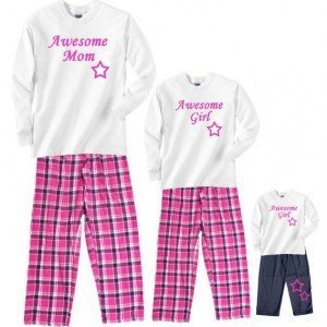 Awesome Mom and Girl Matching Sleepwear