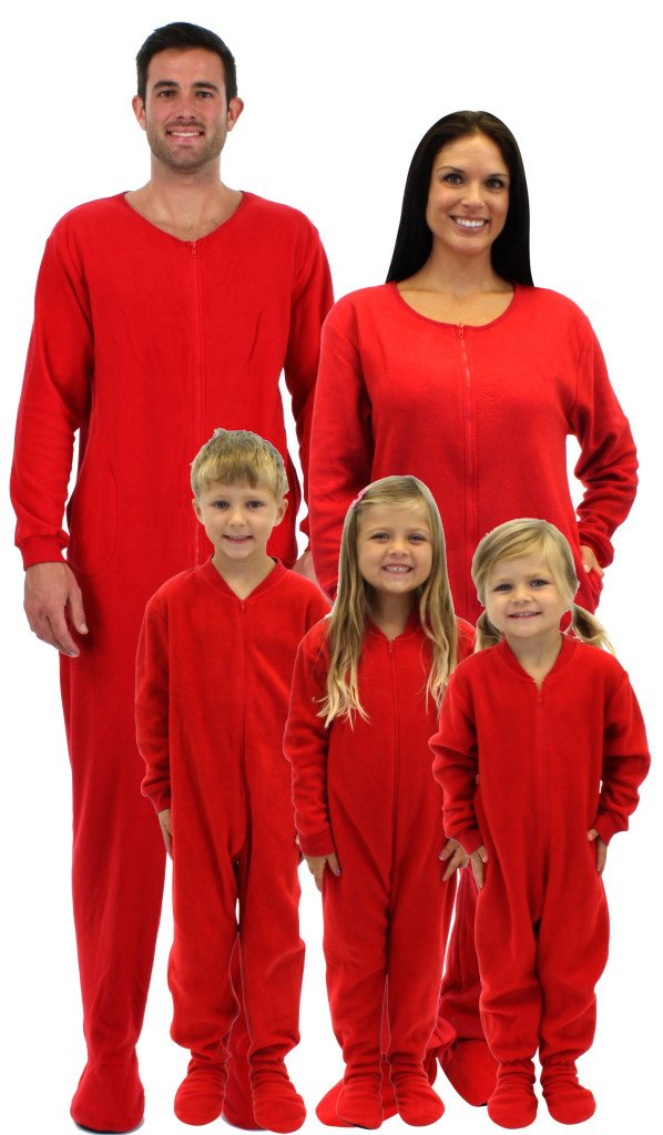 Footie Sprites Pajamas- For the whole family! With this set of patterns, you can create a set of cozy pajamas for the entire family! There are two different rise options, two waistband options, and two hem options included for all sizes to make it easier for you to cater to everyone's individual style and comfort.
