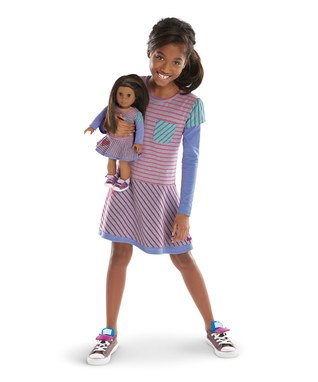 American Girl School Stripe Dress for Girls