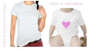 Baby You Stole My Heart Matching T-Shirts