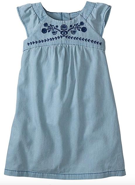 Chambray Sunswept Dress