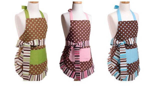 Chocolate Flirty Aprons Sale