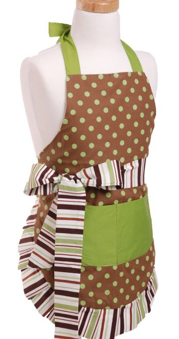 Cocoa-Lime-Girls-Flirty-Apron-Front