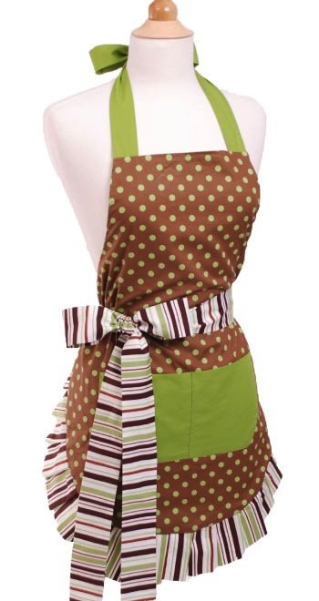 Cocoa-Lime-Womens-Flirty-Apron-Front