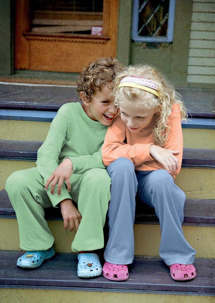 Kids 100 Recycled Fiber Lounge Pant in Pistachio, Matching Family Recycled Fiber Fleece Outfits