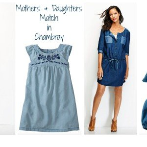 Mothers + Daughters Match Chambray