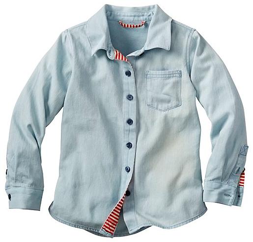Superwashed Chambray Shirt
