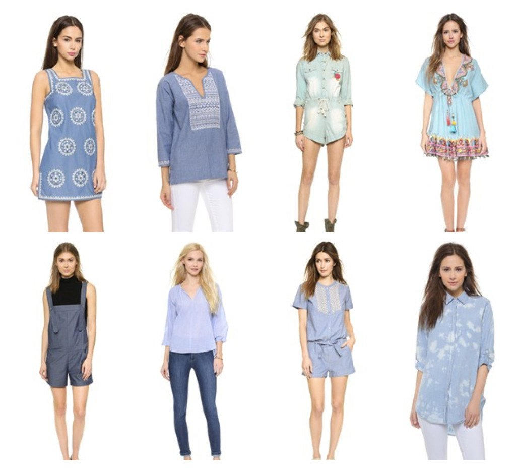 Women's Chambray Clothes