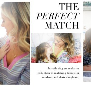 Joie Mother Daughter Matching Tunics