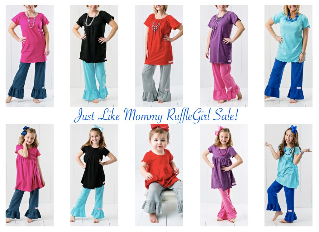 Just Like Mommy RuffleGirl Sale!