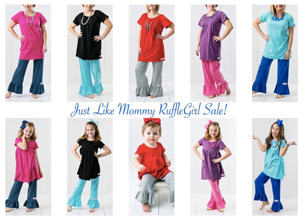 Just Like Mommy RuffleGirl Sale!