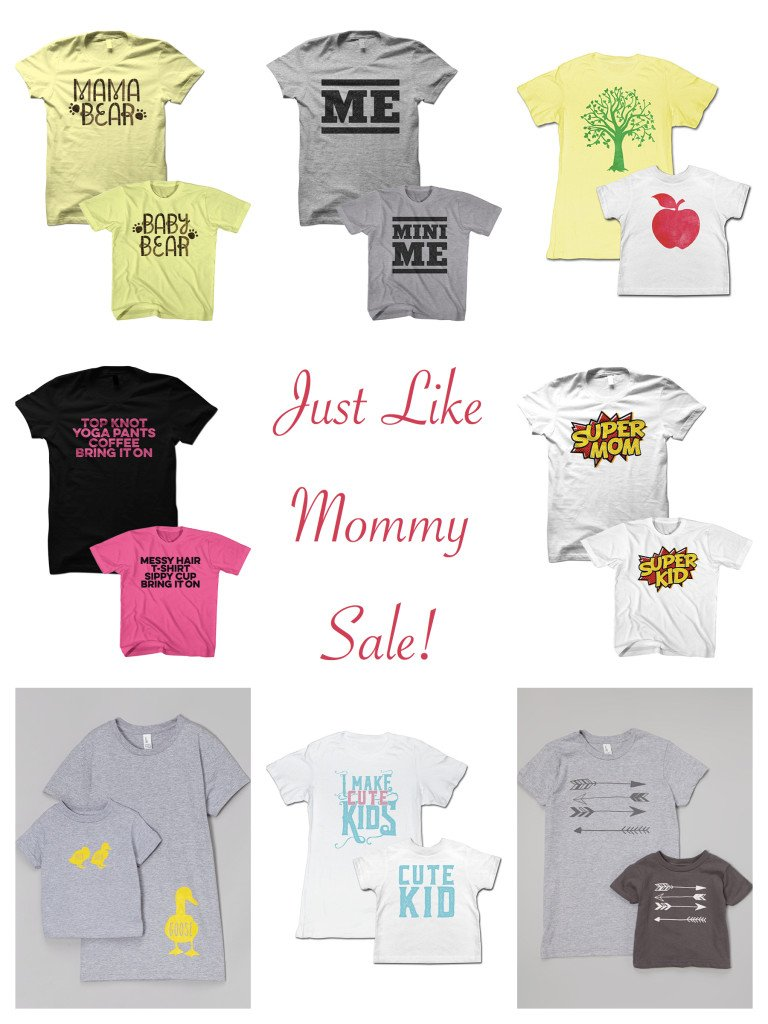Just Like Mommy Sale T-shirts