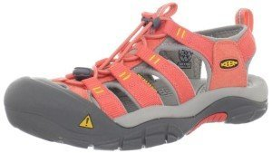 KEEN Newport H2 Sandal Womens hot coral and yellow, Mommy and Me Keen Sandals