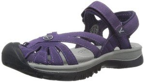 KEEN Rose Womens Sandal sweet grape and gray