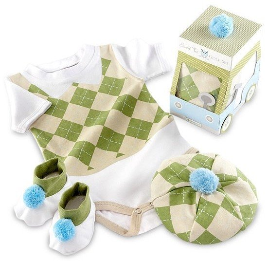 Sweet-Tee-Golf-Layette-Set, Born to Golf