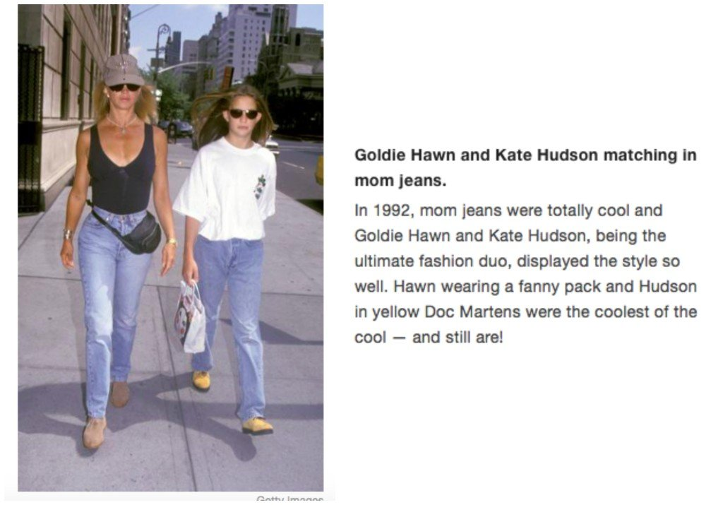 Celebrity Mother Daughter Matching Outfits_Goldie Hawn_Kate Hudson
