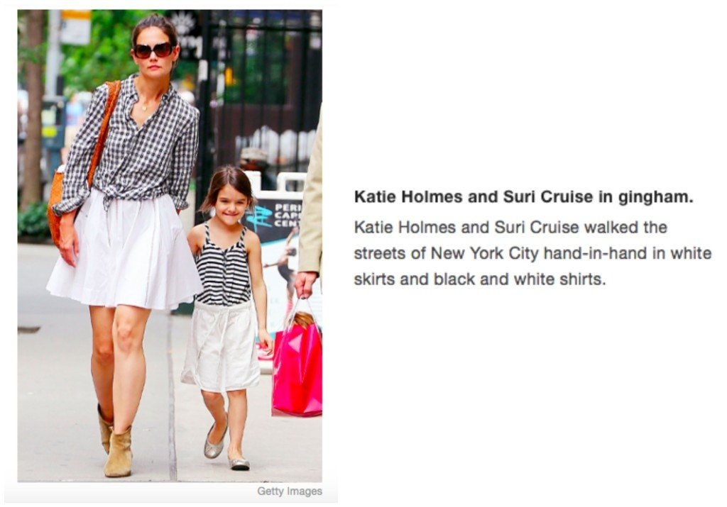 Celebrity Mother Daughter Matching Outfits_Katie Holmes_Suri Cruise