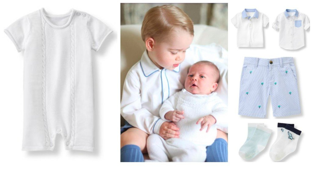 Outfits Fit for a Royal Baby