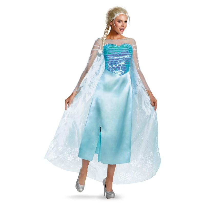 Frozen Costume Sale, Adult Elsa-Costume