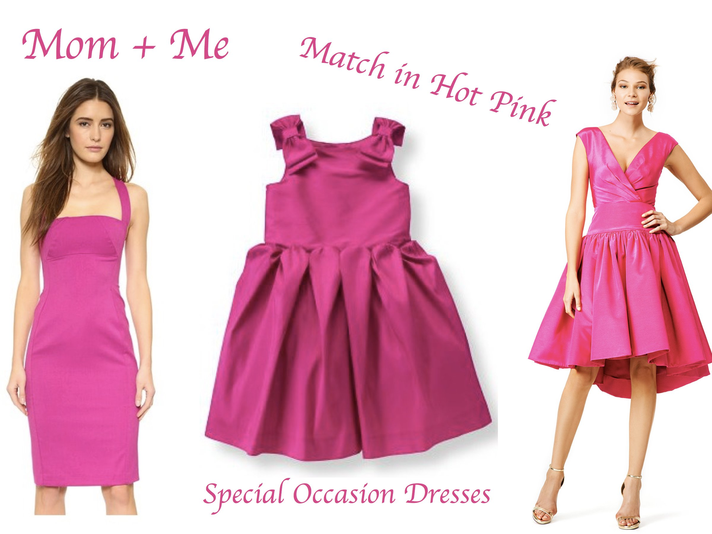 Mother Daughter Matching Special Occasion Dresses