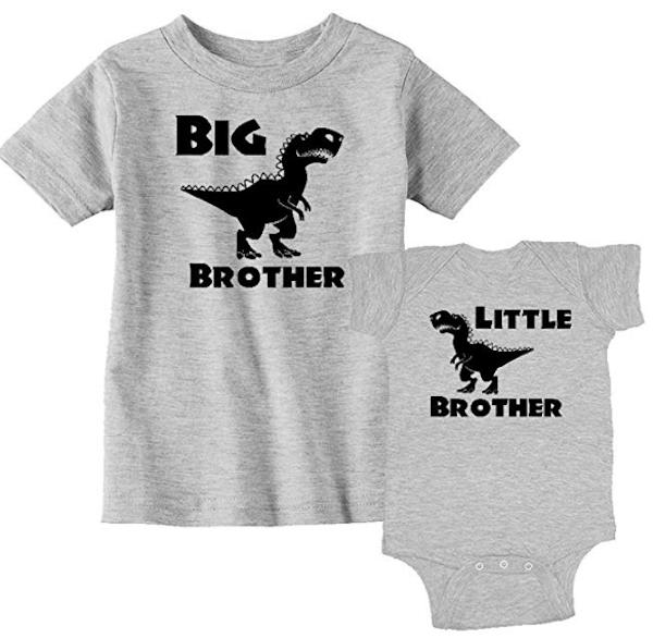 Big Brother Little Brother Matching Pajamas
