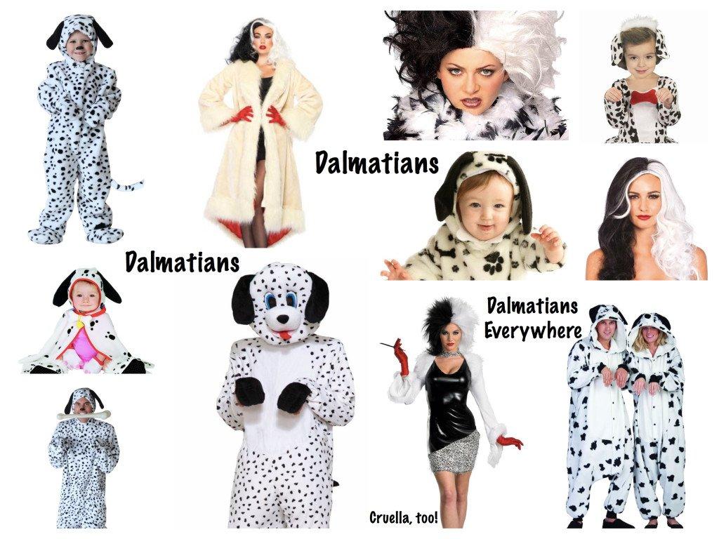 Family 101 Dalmatian Costumes