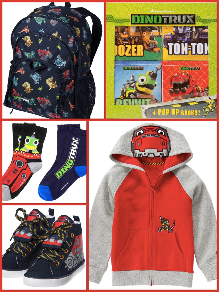 Dinotrux Boys Clothes & Accessories, Dinotrux Collection for Boys