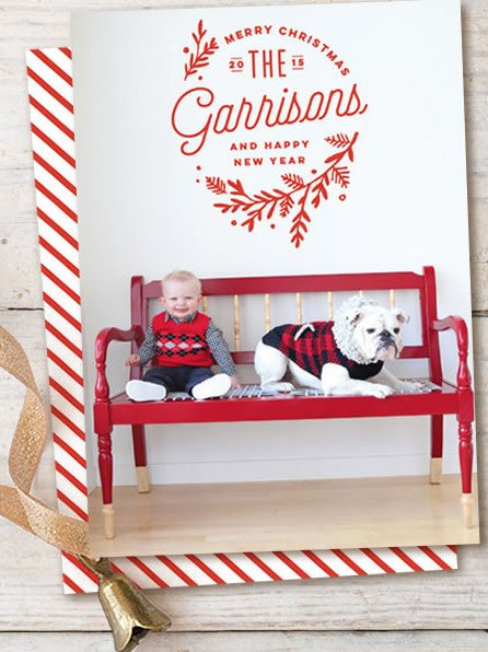Embellished Holiday Cards from Minted