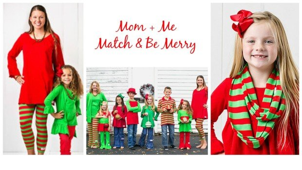 mommy and me match and be merry