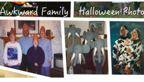 Awkward Family Matching Halloween Costume Photos