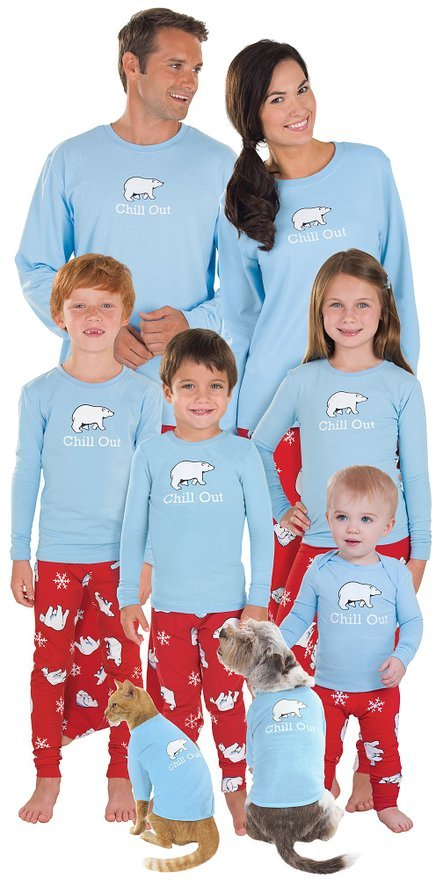 Chill Out Family Matching Pajamas