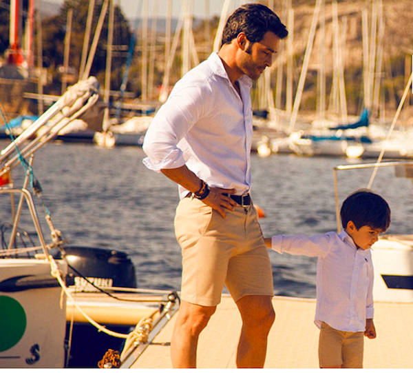Daddy and Me Shop shirts and shorts