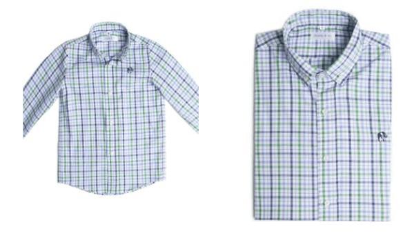 father son matching linen shirts