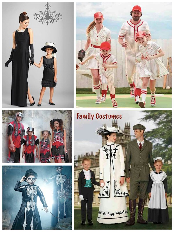 high quality family matching halloween costumes