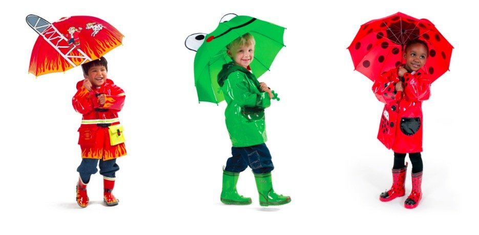 Kids Costume Rainwear