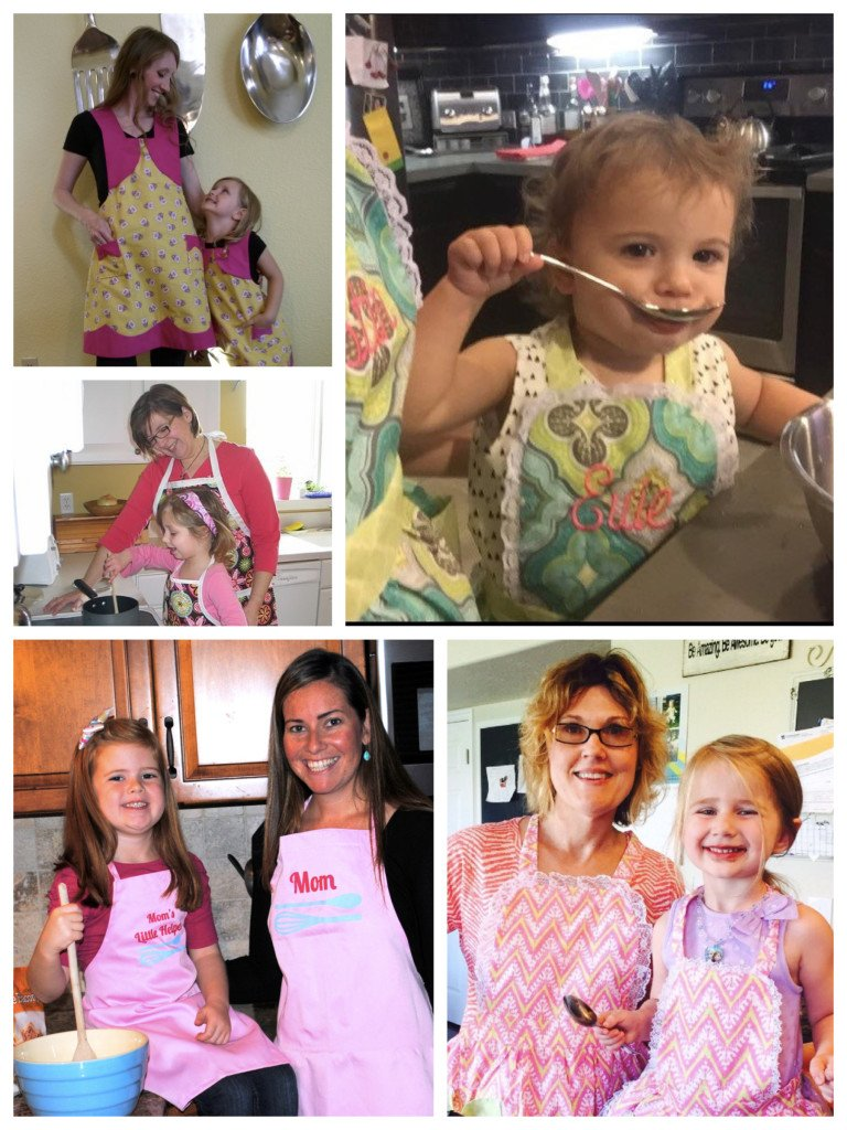 Kitchen Fun, Mommy and Me Matching Aprons