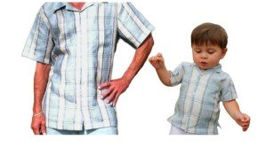 Matching Father Son Linen Shirts