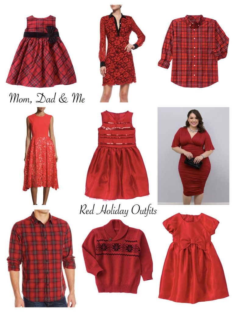 dd7b9cc257e Plus Size Mommy and Me Matching Holiday Outfits