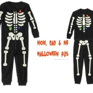 Mom Dad & Me Halloween PJs