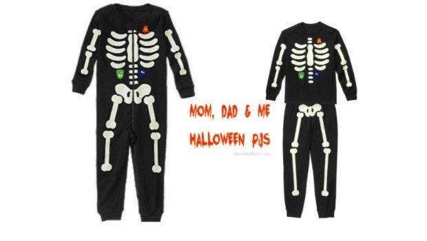 Mom Dad & Me Halloween PJs