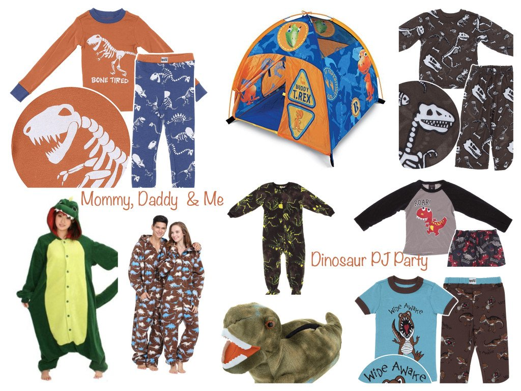 Mommy Daddy & Me Dinosaur PJ Party
