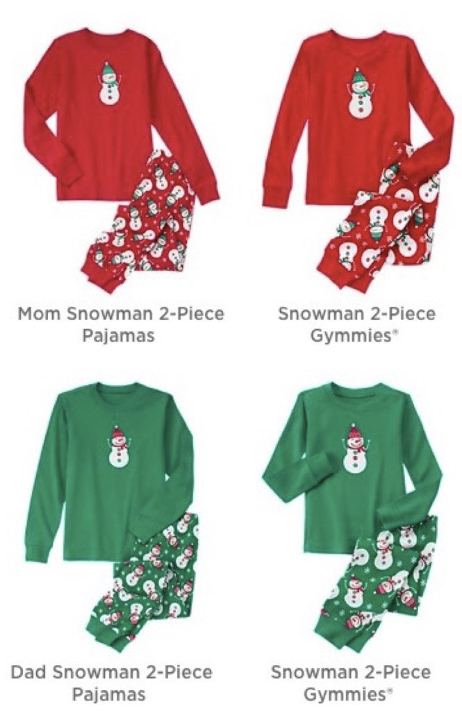 The Company Store Christmas Pajamas