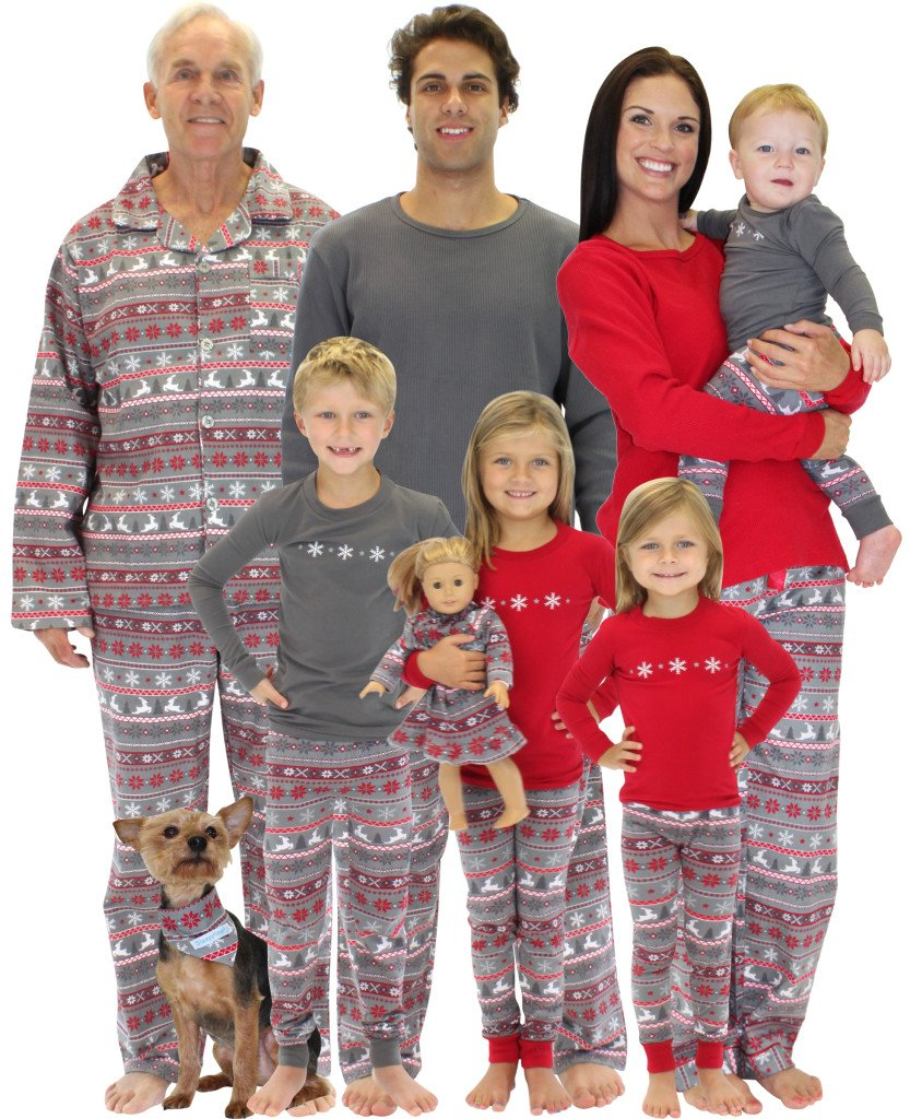 Nordic Family Matching Christmas Pajamas, Win Family Matching Holiday Pajamas, Family Matching Holiday Pajamas Giveaway