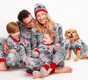 6bd543873 A Must Watch Video - Striped Christmas Pajama Clad Perfect Family s ...