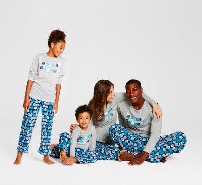 Target Matching Family Hanukkah Pajamas