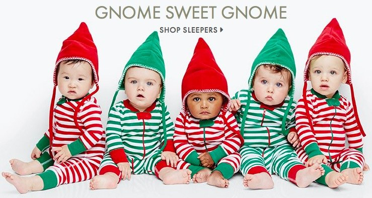 gnome sweet gnome sleepers christmas sleepers