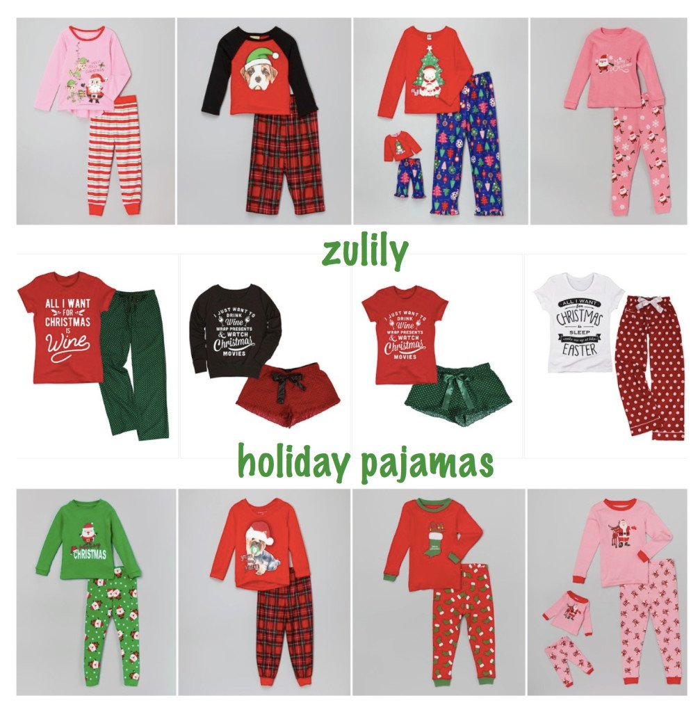 zulily Christmas Pjs