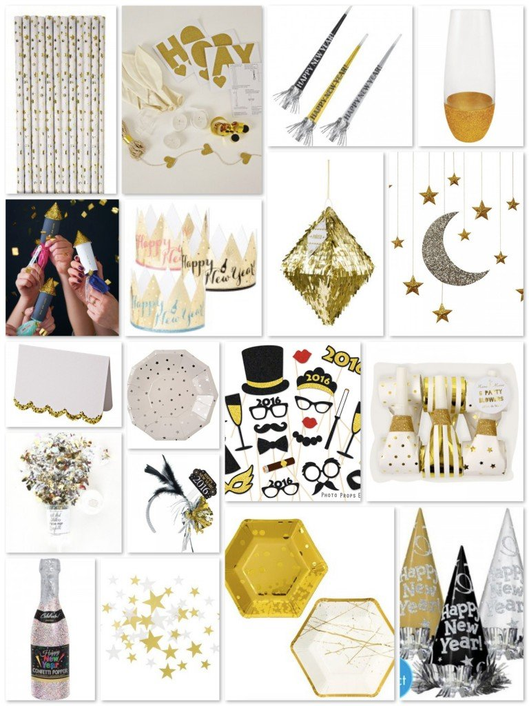 All That Glitters New Years Eve Party Supplies