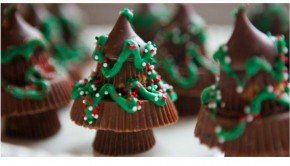 Candy Christmas Tree Treats